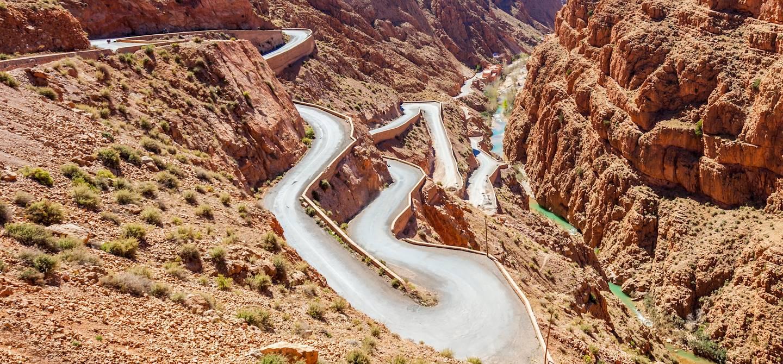 Gorges du Dadès - Région de Ouarzazate - Maroc