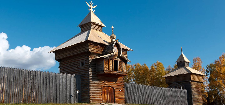 Musée Taltsy - Sibérie - Russie