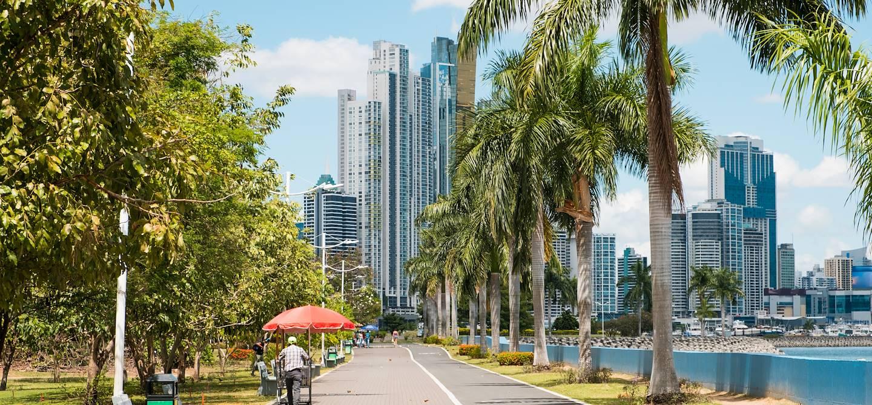 Balade dans Panama City - Panama