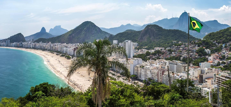 Quartier de Copacabana - Rio de Janeiro - Brésil