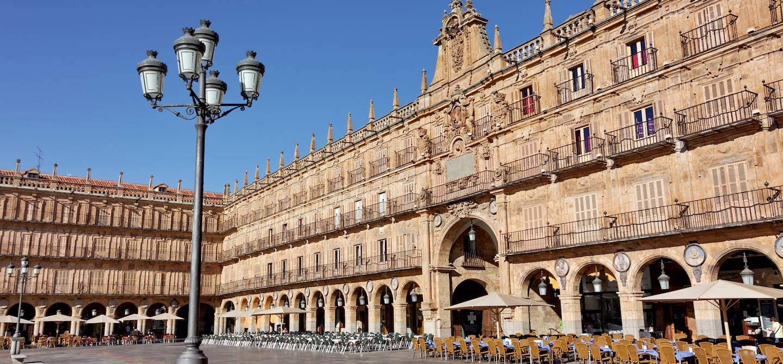 Plaza Mayor - Salamanque - Castille-et-León - Espagne