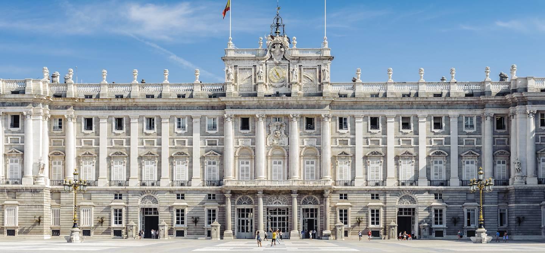 Palais royal de Madrid - Espagne