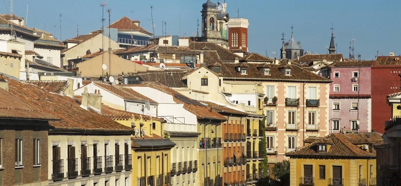 Quartier La Latina - Madrid - Espagne