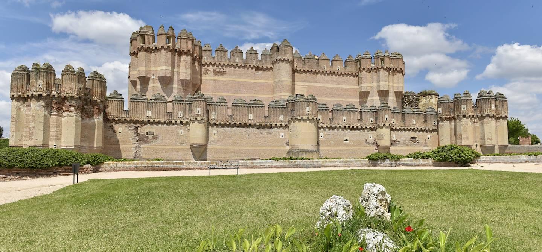 Castillo de Coca - Castille-et-León - Espagne