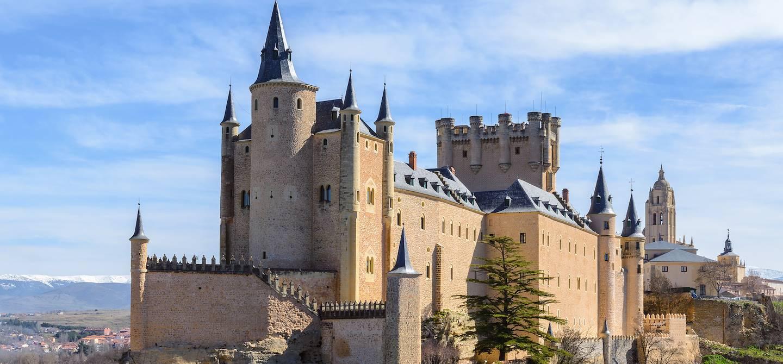 Alcazar de Ségovie - Castille-et-León - Espagne
