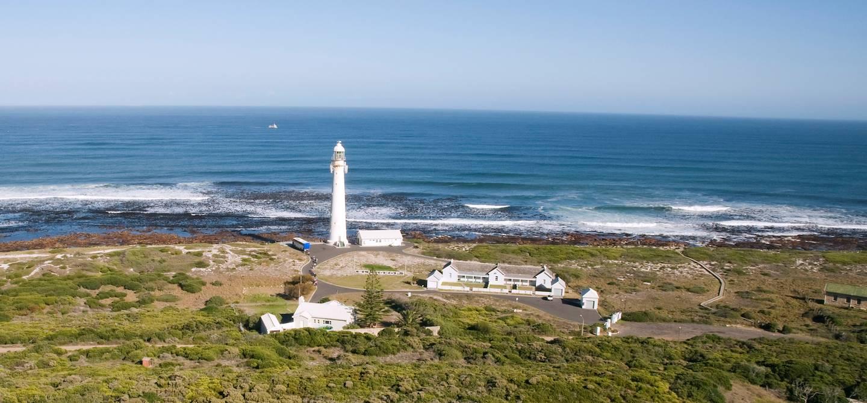 Phare à Robben Island - Afrique du Sud