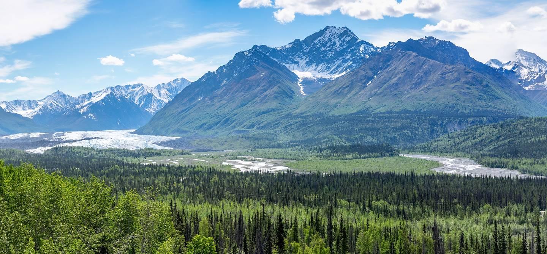 Vallée de la rivière Matanuska - Alaska - Etats-Unis