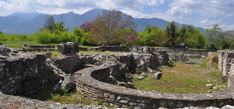 Site archéologique d'Aigai - Grèce