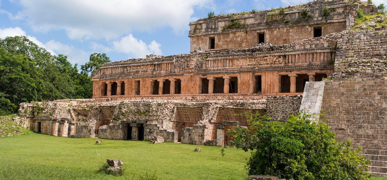 Site archéologique de Sayil - Etat du Yucatan - Mexique
