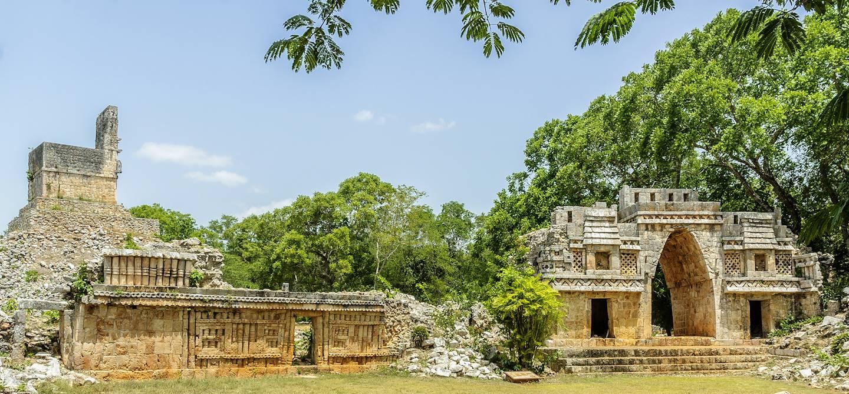 Site archéologique de Labna - Etat du Yucatan - Mexique