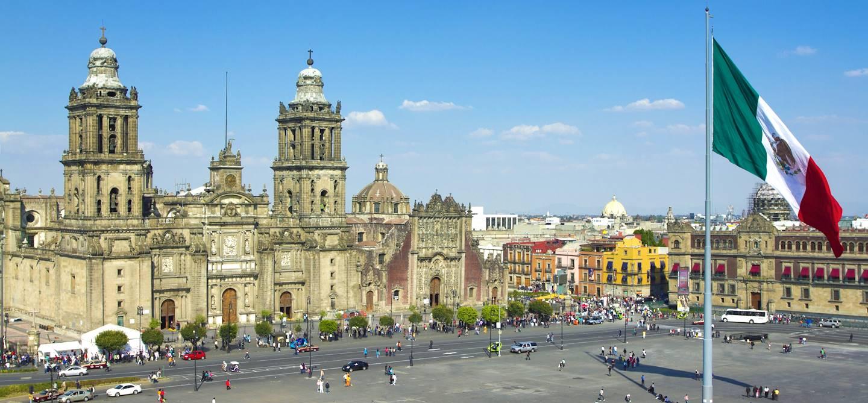 Zocalo - Mexico - Mexique