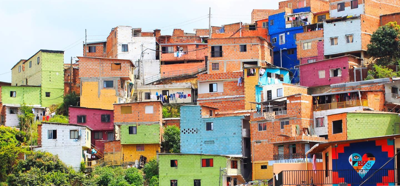 La Comuna 13 - Medellin - Colombie