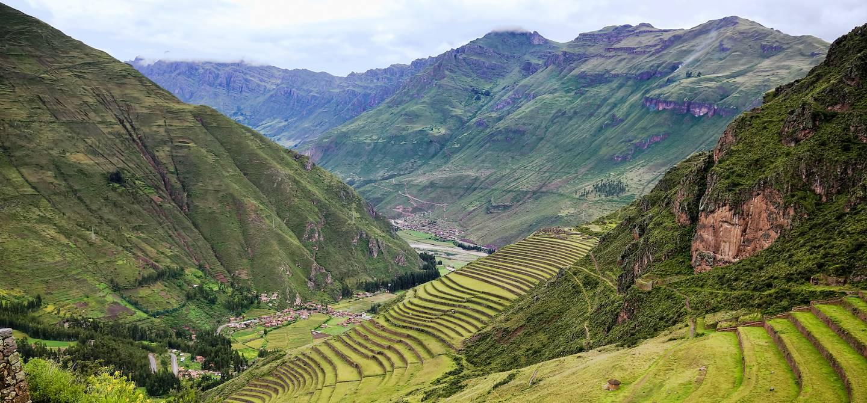 Terrasses dans la Vallée Sacrée - Pérou