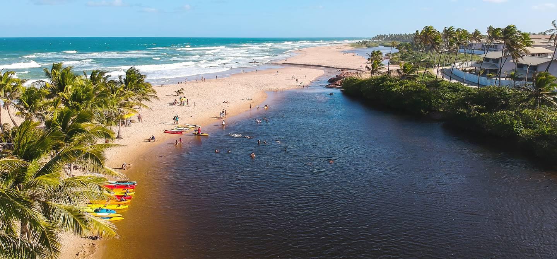 Plage d'Imbassai - Imbassai - Bahia - Brésil