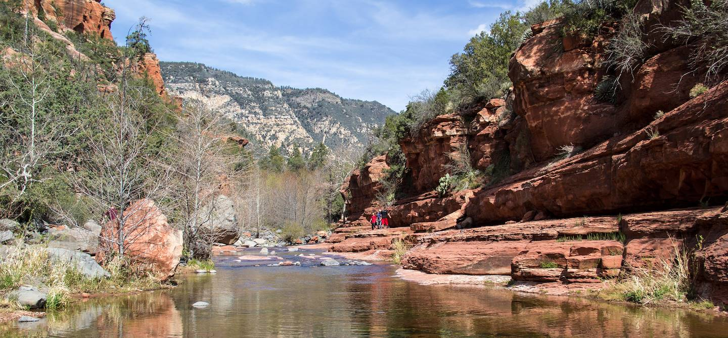 Slide Rock Canyon - Sedona - Etats-Unis