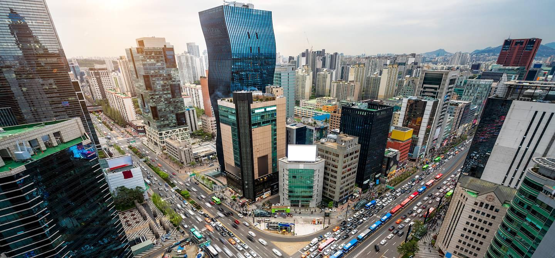 Quartier de Gangnam - Séoul - Corée du Sud