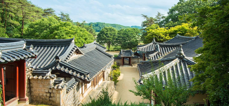 Académie confucéenne - Andong - Corée du Sud