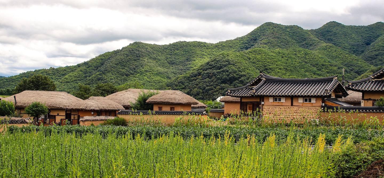 Village de Hahoe - Andong - Corée du Sud