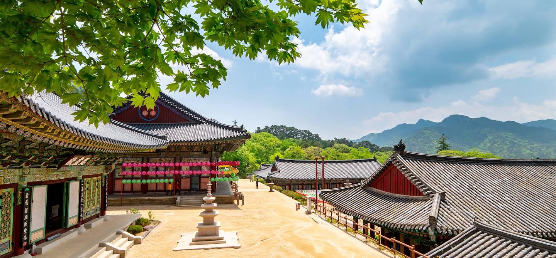 Temple de Haiensa - Parc National de Gayasan - Corée du Sud