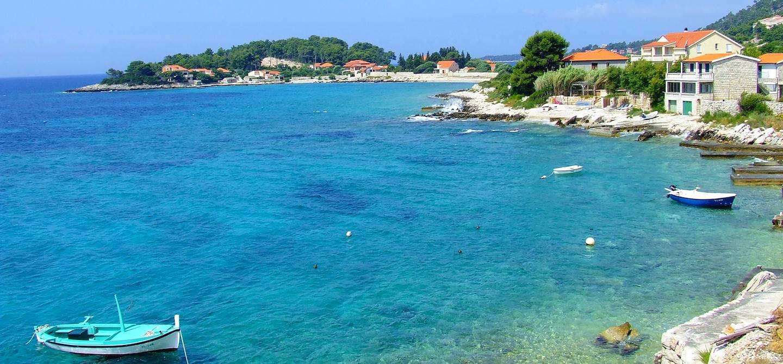 Village de Prizba - île de Korcula - Croatie