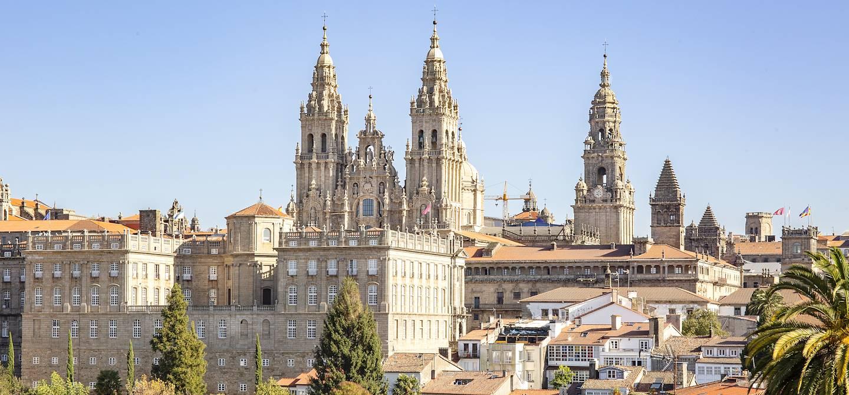 La cathédrale de Saint-Jacques de Compostelle - Galice - Espagne
