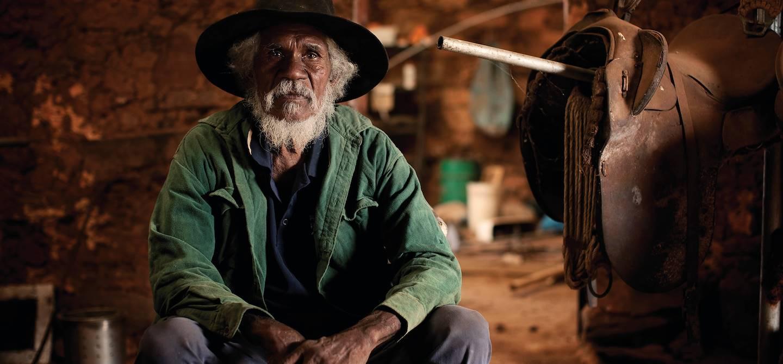 Portrait d'un homme - Australie