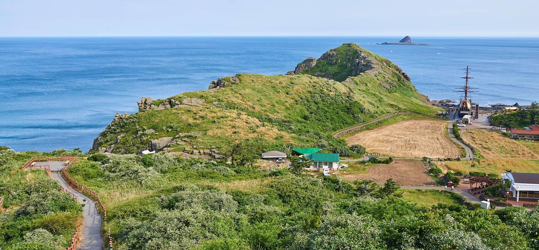 Côte de Yongmeori sur l'île de Jeju - Corée du Sud