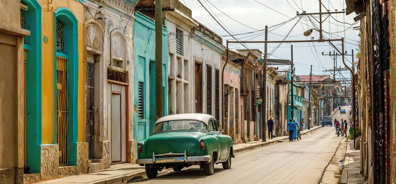 Dans les rues de Santiago - Cuba