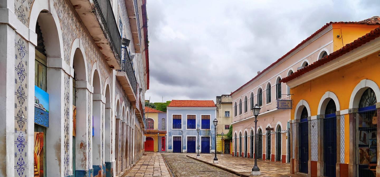 Dans les rues de Sao Luis - État du Maranhao - Brésil