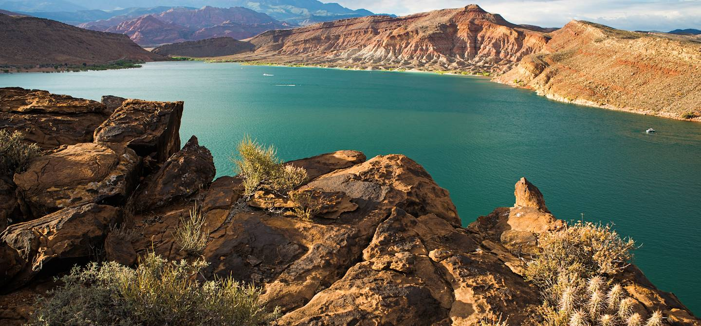 Parc d'État de Quail Creek - Utah - États-Unis