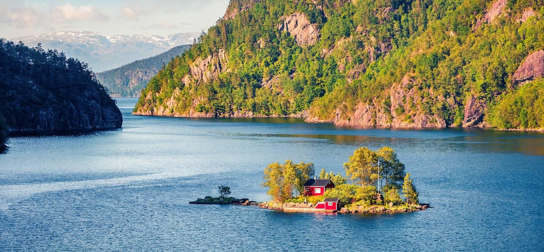 Lovrafjorden - Norvège