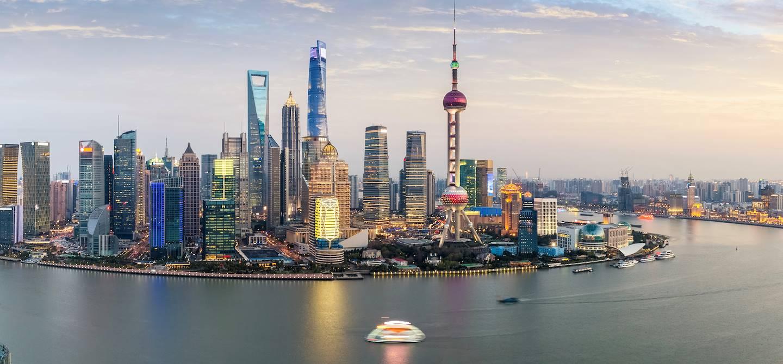Panorama sur Shanghai - Chine