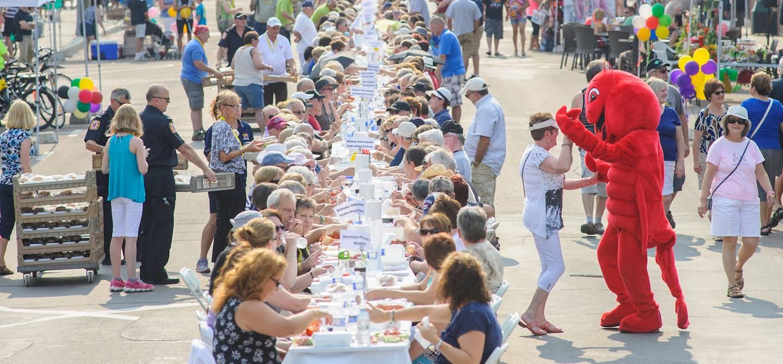 Festival du homard à Shédiac - Nouveau-Brunswick - Canada