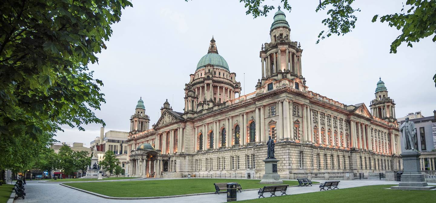 Belfast City Hall - Irlande du Nord - Royaume-Uni