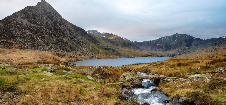 Tryfan - Vallée de l'Ogwen - Parc national Snowdonia - Pays de Galles - Royaume-Uni