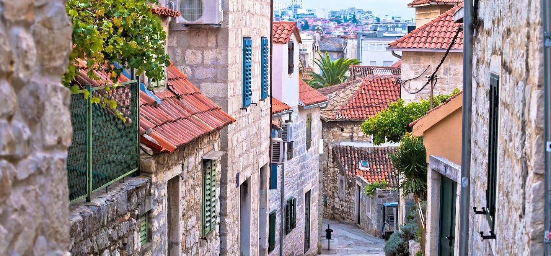 Dans les ruelles de Split - Comitat de Split-Dalmatie - Croatie