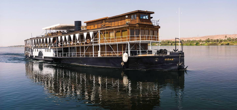 Croisière sur le Nil de Louxor à Assouan à bord du Steam Ship Sudan - Égypte