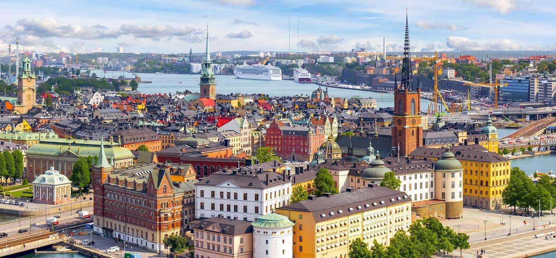Panorama sur Stockholm - Suède