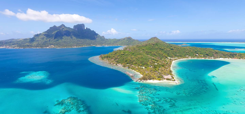 Vue aérienne - Tahiti - Polynésie Française