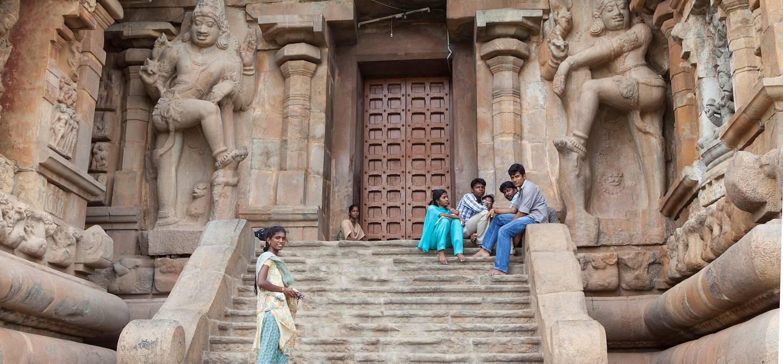 Temple d'Airavatesvara - Darasuram - Tanjore - Tamil Nadu - Inde