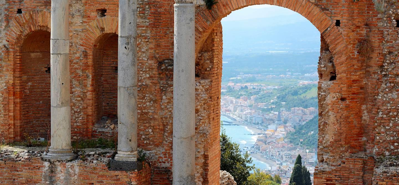 Théâtre de Taormine - Sicile - Italie