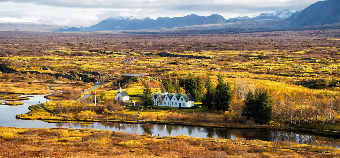 Parc national de Thingvellir - Islande