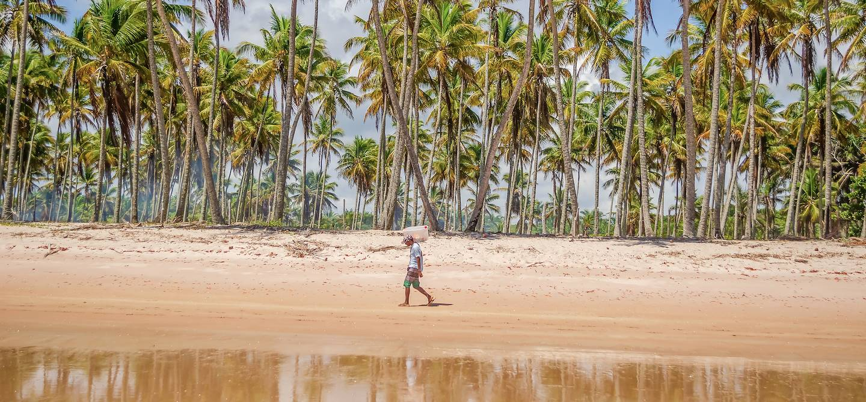 scène de vie - Ile de Boipeba - Etat de Bahia - Brésil