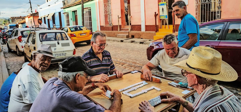Joueurs de dominos - Trinidad - Cuba