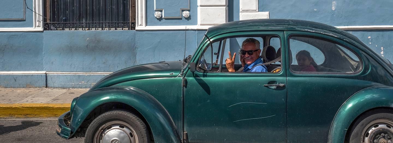 Dans les rue de Merida - Yucatan - Mexique
