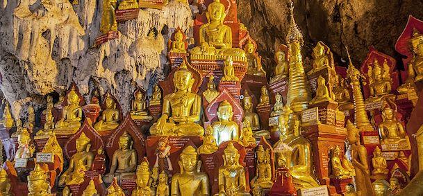 Grotte sacrée de Pindaya
