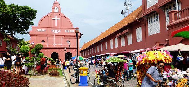 Quartier du Fort de Malacca