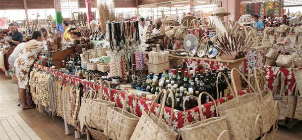 Marché artisanal de Papeete - Tahiti