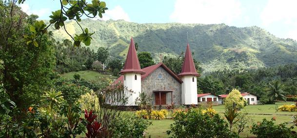 Cathédrale Notre-Dame des Marquises - Nuku Hiva
