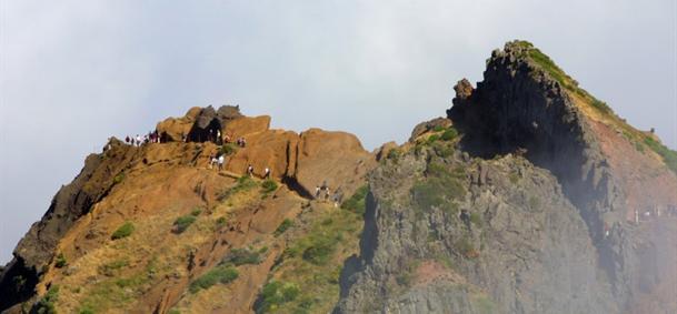 Pico Ruivo - Madère